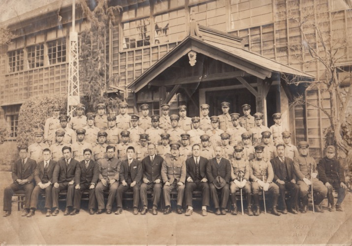 日野国民学校 戦時中 集合写真
