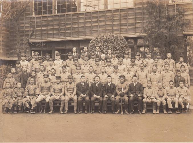 日野国民学校 昭和10年代後半 集合写真(2)