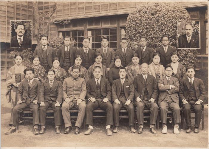 日野尋常高等小学校 ‐ 教職員 昭和10年代か