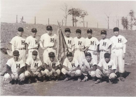 日野町野球チーム 昭和30年代