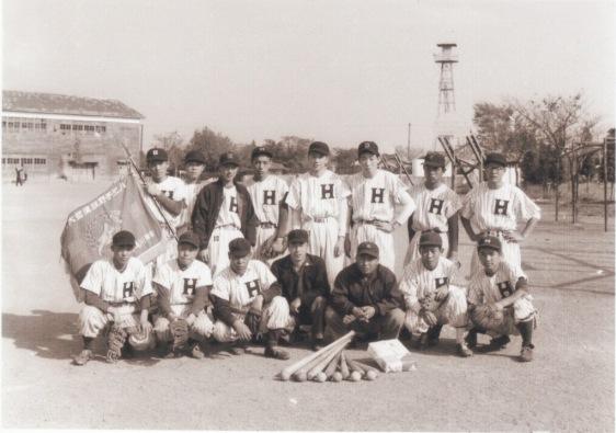 日野町野球チーム(2)昭和30年前後