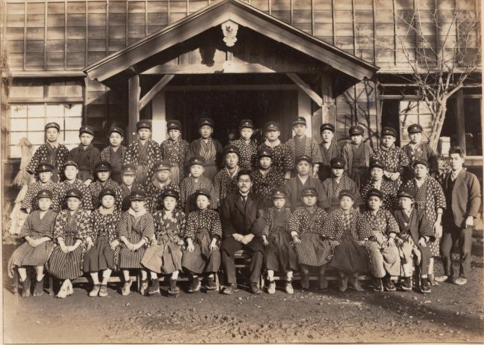 日野尋常高等小学校卒業記念写真帖 1927(1)教職員