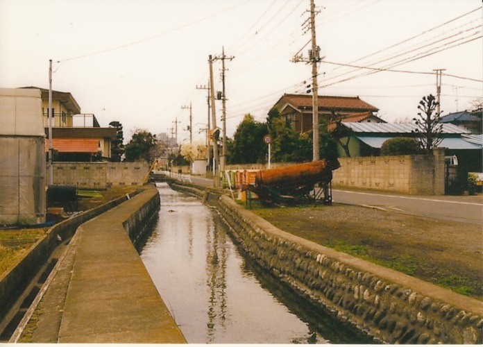 栄町四丁目付近から西側方面 1997