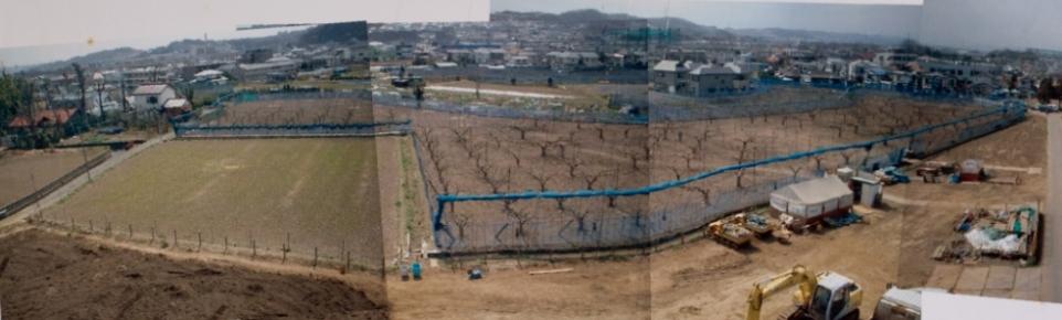 上田の旧火の見櫓付近から南方面の眺め 2000年初頭