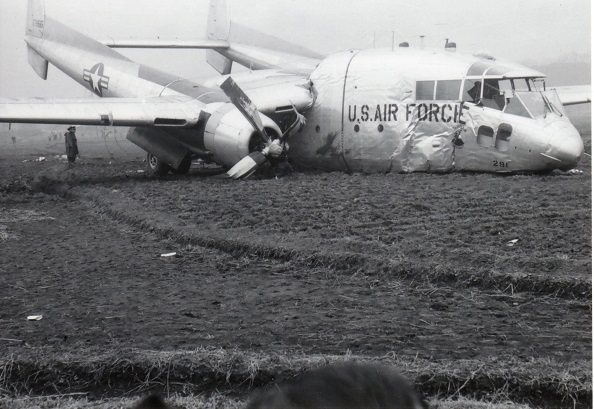米軍機墜落 1956(9)