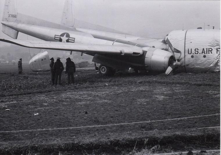 米軍機墜落 1956(10)