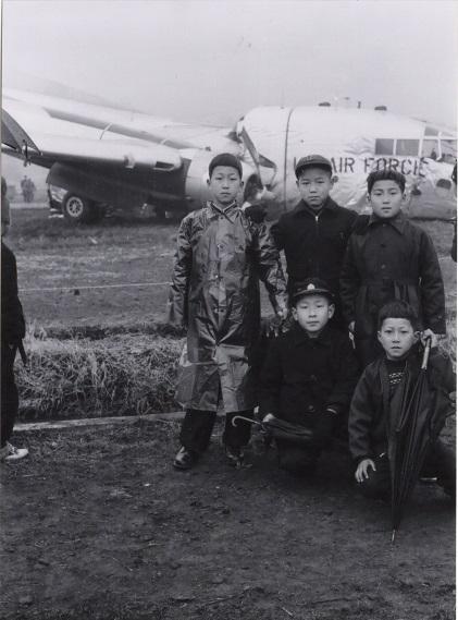 米軍機墜落 1956(11)