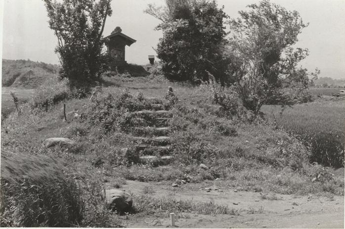 東光寺の金刀比羅宮(七ツ塚古墳群)