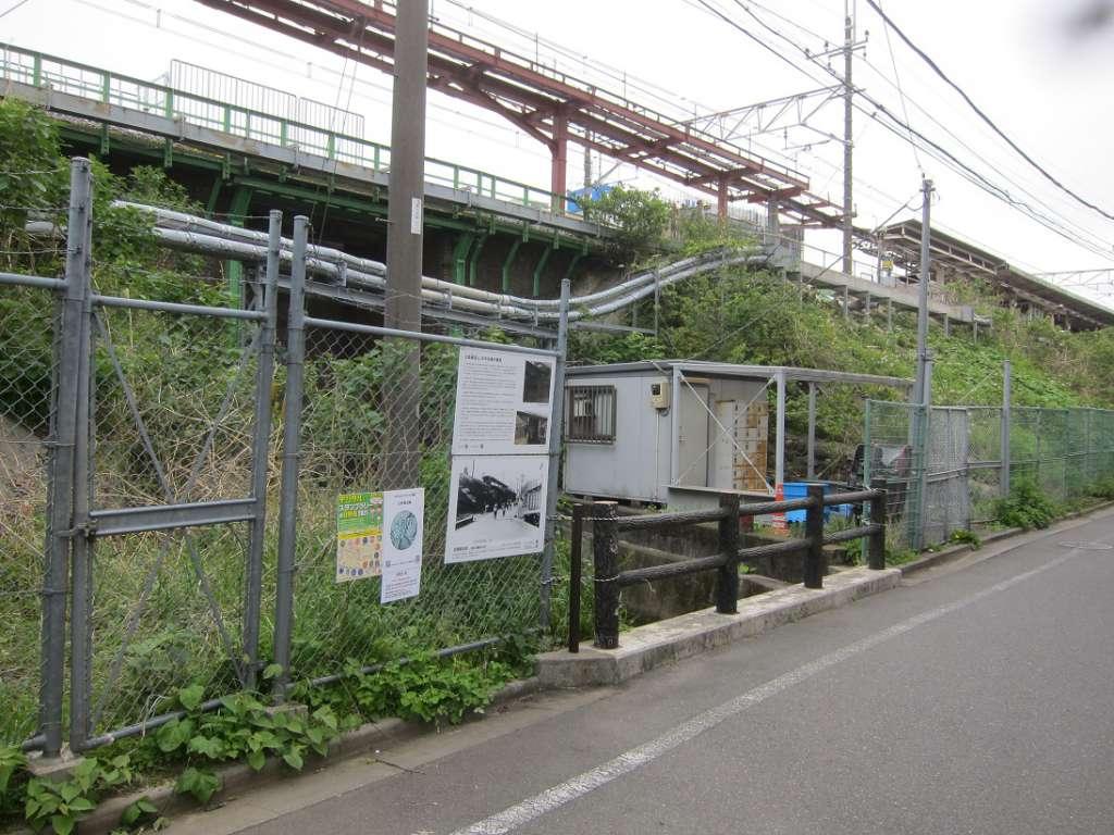 日野駅北西日野煉瓦橋側 2021-04-28