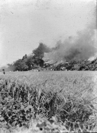 米軍機墜落 1955(3)東光寺