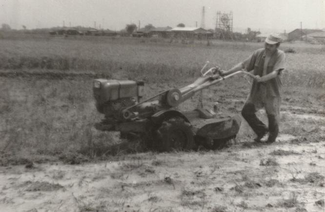 耕運機 昭和30年代