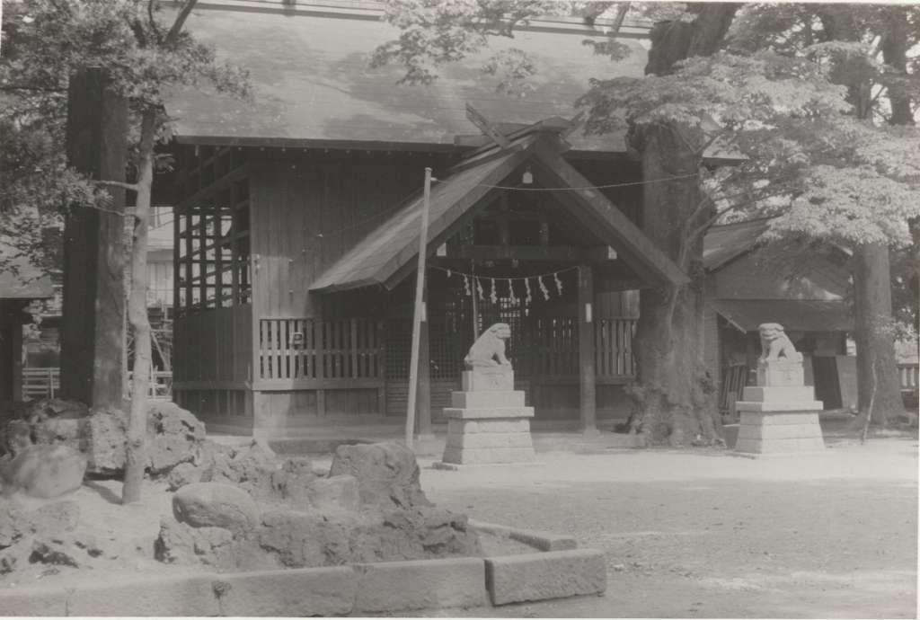 八坂神社覆殿-昭和30年代