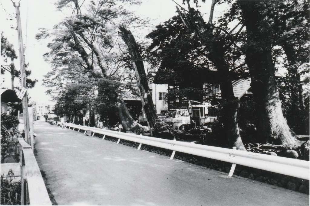 八坂神社の南側 昭和50年代