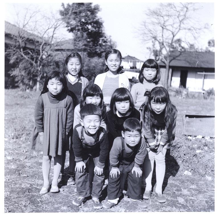 森町の子どもたち 1957年頃