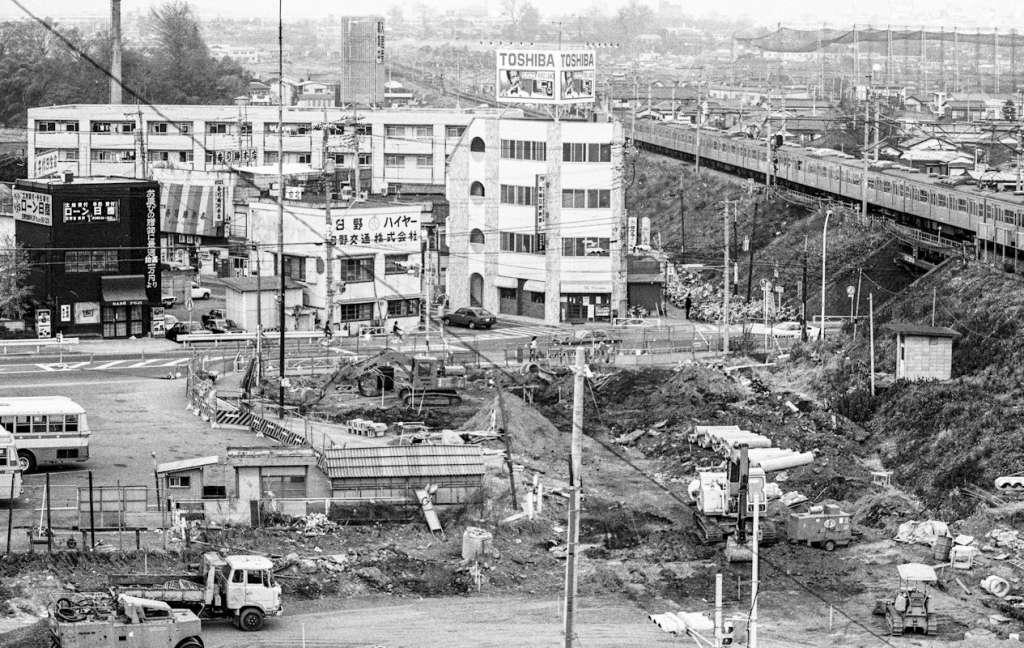 土地区画整理事業-日野駅西側地区 1981