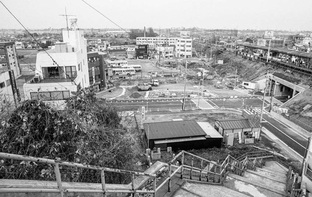 土地区画整理事業-日野駅西側 1981