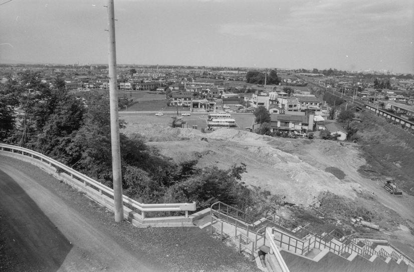 土地区画整理事業-日野駅西側 1977