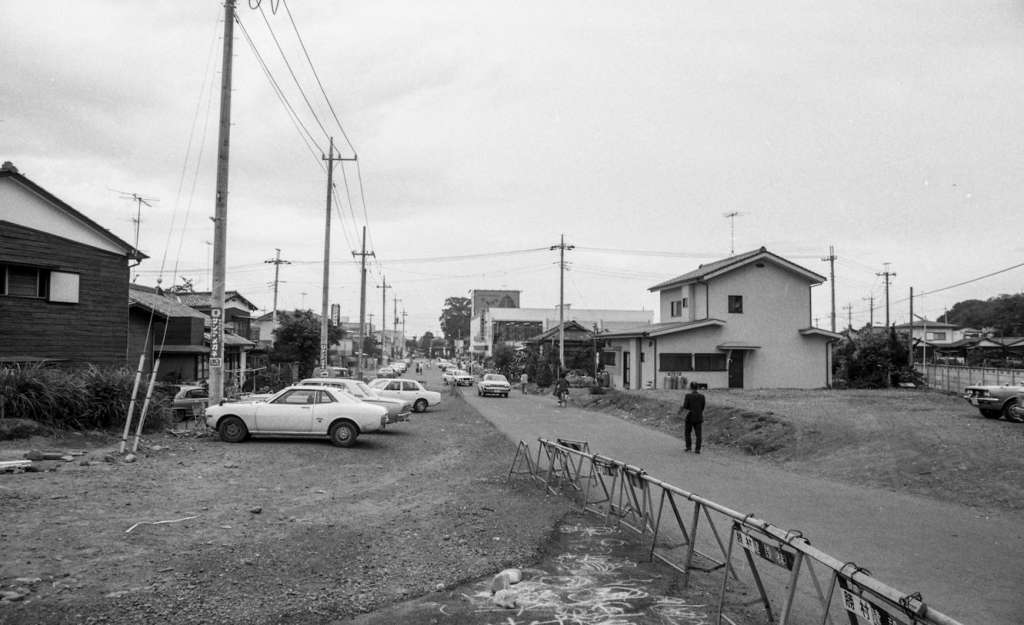土地区画整理事業-日野駅東側 1979
