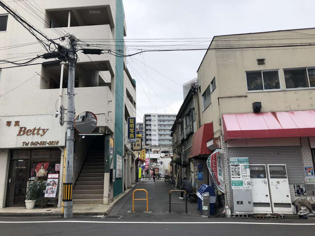 旧日野銀座 2021-08-26