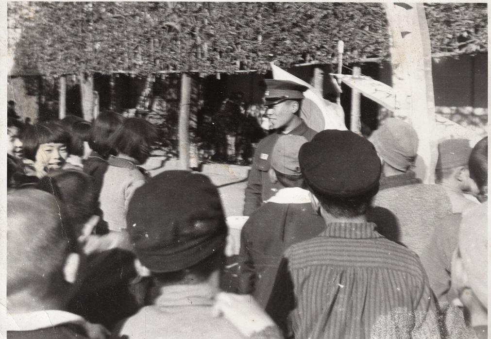 出征兵士の壮行1944(2)