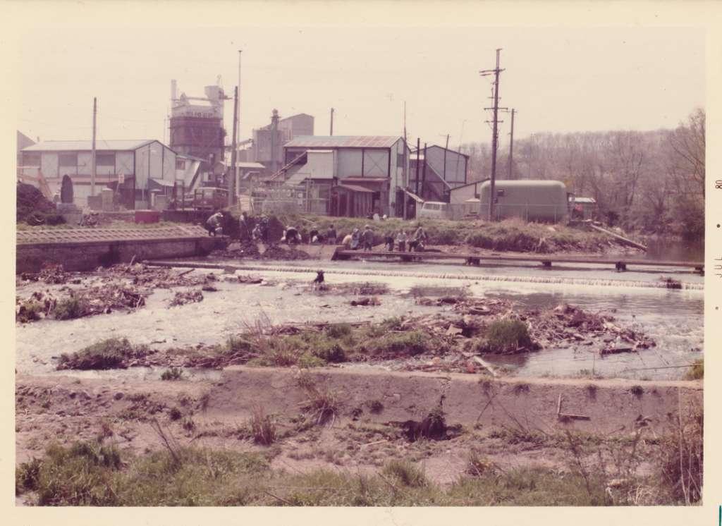 日野用水-東光寺 1980(カラー)