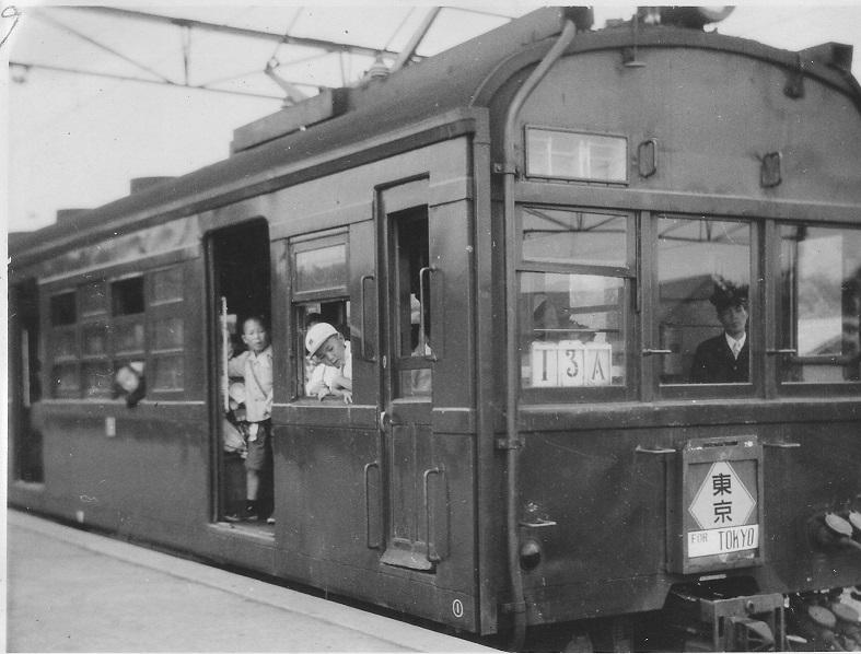 中央線電車72系 昭和20年代後半