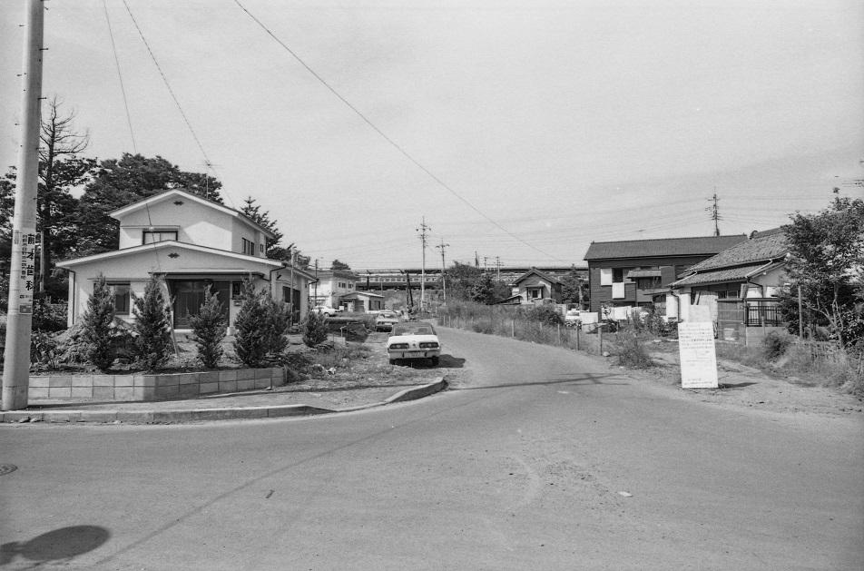 横町田倉家付近 1977-10-16