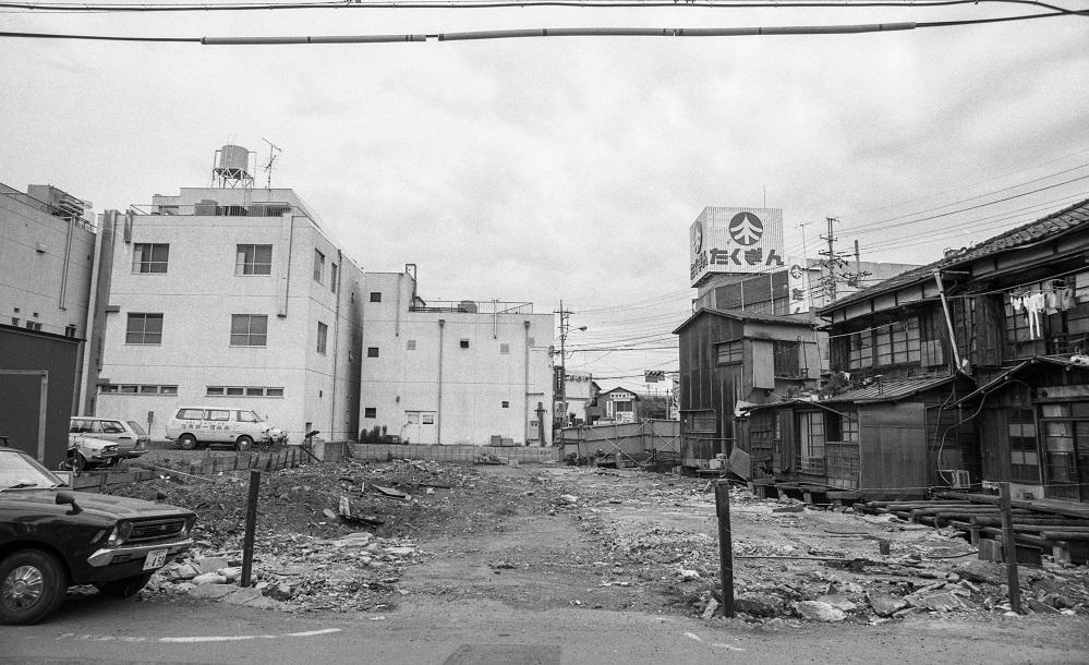 旧日野銀座跡 1979-05-27