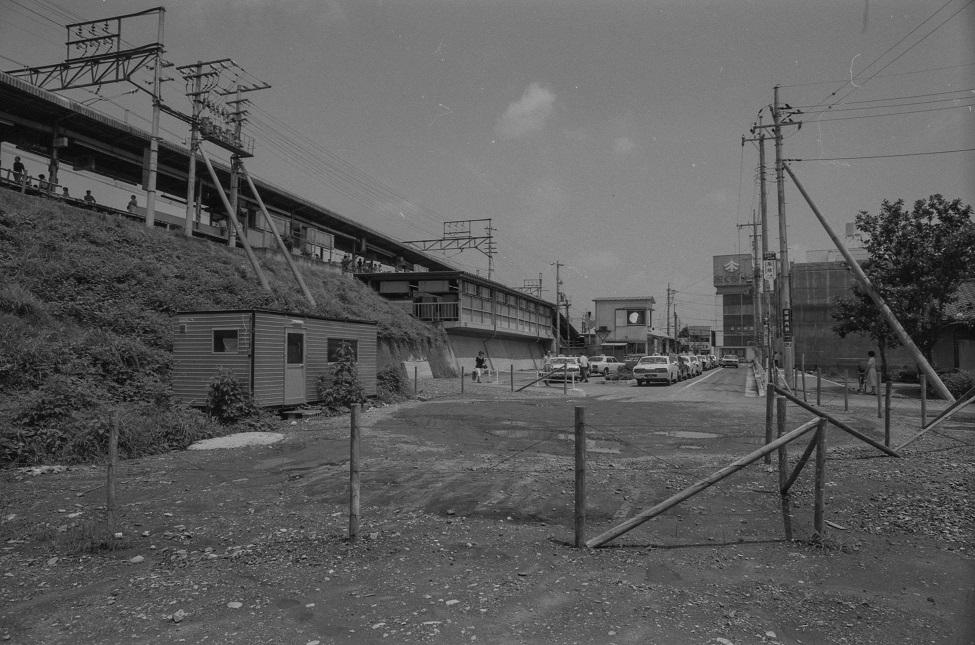 日野駅東 1978-07-02