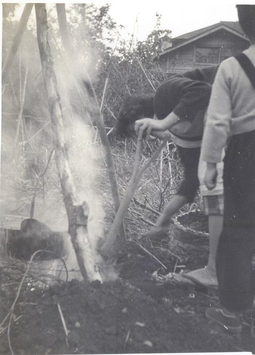 芋煮会(2) 昭和30年代