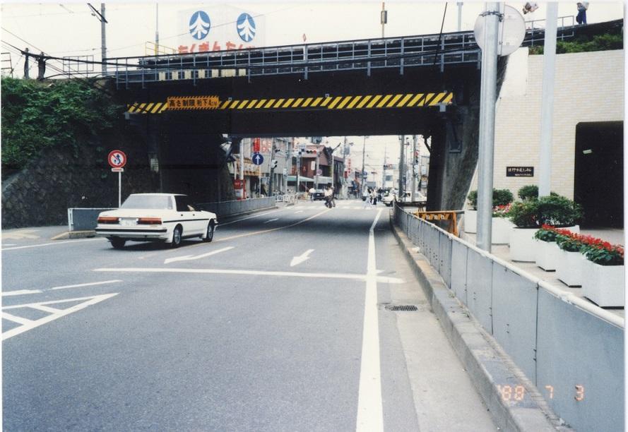 国道20号日野歩道トンネル(2)1988-07-03