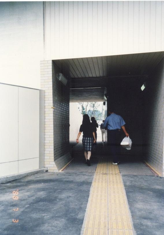 国道20号日野歩道トンネル 1988-07-03
