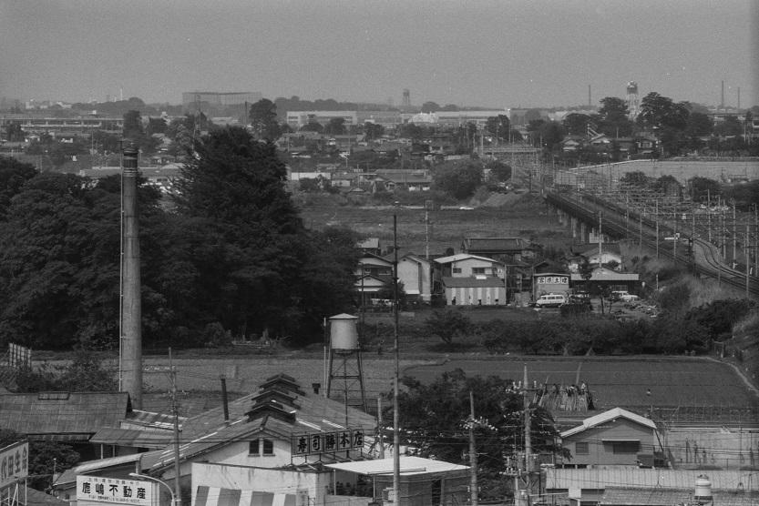 薬王寺方面 1977-05-08