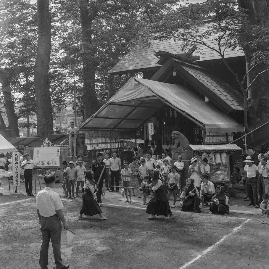 八坂神社の祭り 1967 剣道大会(2)