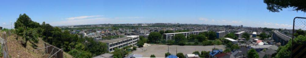 東光寺小裏山から東方面 2007