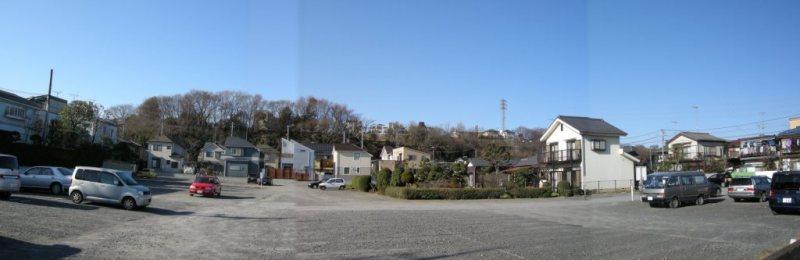 神明の台地の東側 - 仲井 - 2008